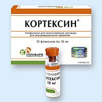 Кортексин от чего используют