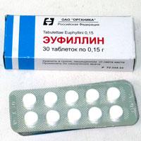 Эуфиллин от чего используют
