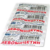 Левомицетин от чего используют