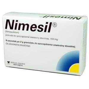 Нимесил: от чего используют