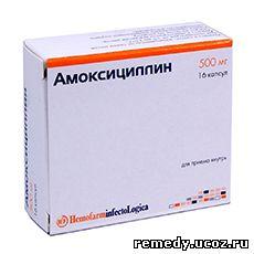 Лекарство Амоксициллин