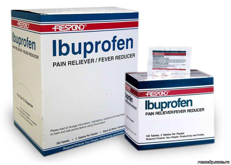 Ибупрофен от чего эти таблетки