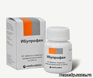 Таблетки Ибупрофен от чего