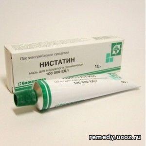 Нистатин инструкция